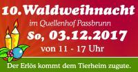 Waldweihnacht im Quellenhof am 03.12.2017