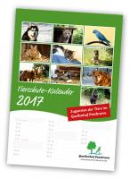 Unser Tierschutzkalender 2017 ist da!