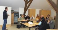 Erster Stammtisch des Tierschutzvereins mit Vortrag von Tierheilpraktiker Holger Anders
