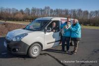 Tierschutzverein erhielt Tierhilfe-Wagen