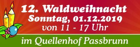 Waldweihnacht im Quellenhof am 01.12.2019